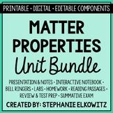 Matter Properties Unit Bundle