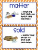 Properties of Matter: Using Content Vocabulary