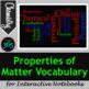 Properties of Matter Vocabulary Unit Bundle