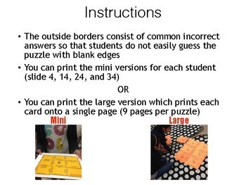 Science STAAR Vocabulary Puzzles