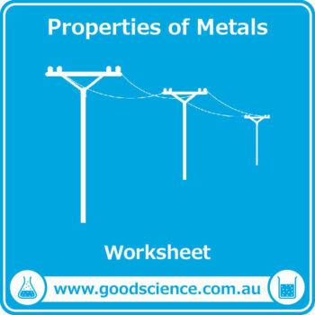 Properties of Metals [Worksheet]