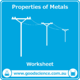 Properties of Metals [Worksheet]