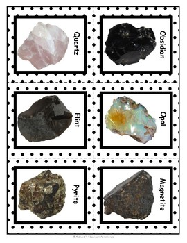 Properties of Minerals - Cleavage vs Fracture (5E Activity)