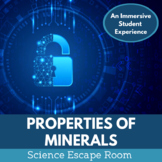 Properties of Minerals Escape Room