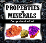 Properties of Minerals Unit (Five Lessons, Powerpoint & Printables)