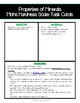 Properties of Minerals - Hardness (Mohs Hardness Scale Task Cards)