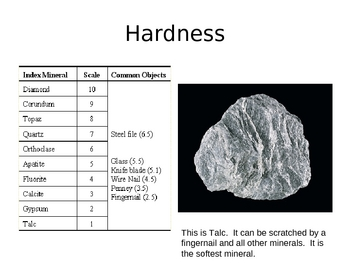 Properties of Minerals Power Point