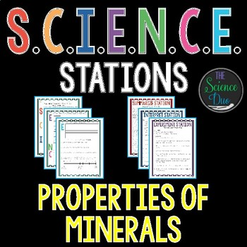 Properties of Minerals - S.C.I.E.N.C.E. Stations