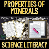 Properties of Minerals - Science Literacy Article