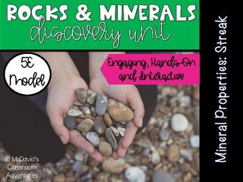 Properties of Minerals: Streak (5E Activity)