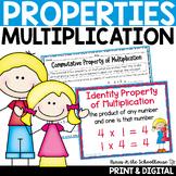 Properties of Multiplication -Identity, Associative, Commutative, Distributive..