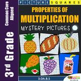 Associative Commutative Distributive 3rd Grade Multiplication Property Worksheet