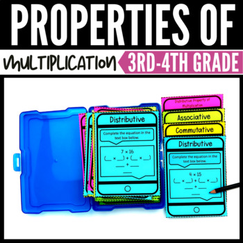 Properties of Multiplication - 3rd Grade Classroom and Distance Learning