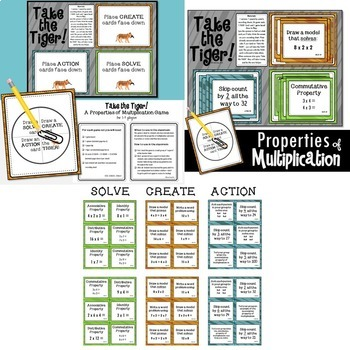 Properties of Multiplication Math Bundle