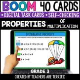 Properties of Multiplication Boom Cards Grade 3 | Distance