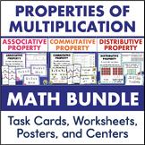 Properties of Multiplication Bundle Distributive Associative Commutative