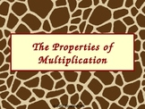 Properties of Multiplication: Commutative, Associative, an