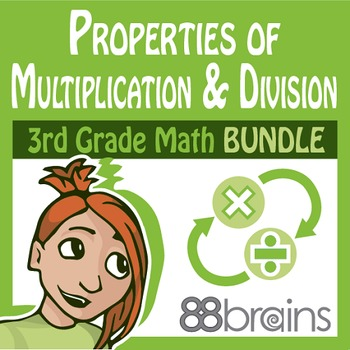 Properties of Multiplication & Division Bundle (CCSS)