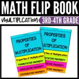 Properties of Multiplication Flip Book 3rd Grade