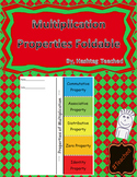 Properties of Multiplication Foldable Activity