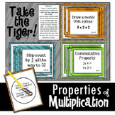 Properties of Multiplication Math Game