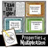 Properties of Multiplication Math Game