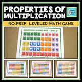 Properties of Multiplication Activity