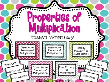 Properties of Multiplication: Math Center & Cooperative Learning