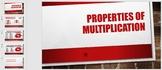 Properties of Multiplication PPT