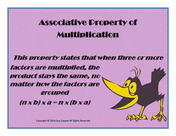 Properties of Multiplication Pack
