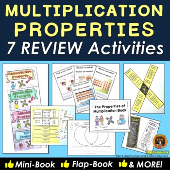 Properties of Multiplication Practice Six Reinforcement Activities