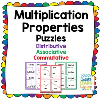 Properties of Multiplication Puzzles