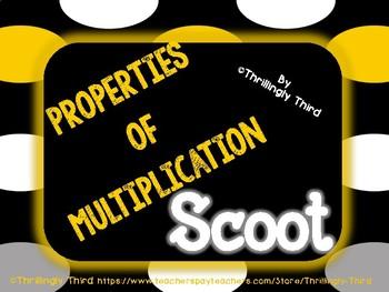 Properties of Multiplication Scoot