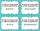 Properties of Multiplication Task Cards