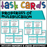 Properties of Multiplication Task Cards