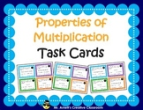 Properties of Multiplication Task Cards - Identify