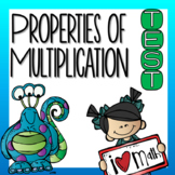 Properties of Multiplication Test