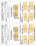 Properties of Multiplication and Addition Layered Foldable (Flippable)
