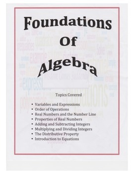Properties of Numbers Guided Notes, Powerpoints, Keys