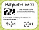 Properties of Numbers Posters