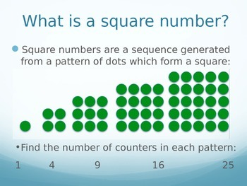 Investigating Numbers - Triangular Numbers, Square Numbers, Factors and Primes
