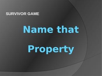Properties of Numbers SURVIVOR GAME