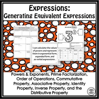 Equivalent Expressions Unit