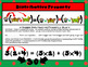 Properties of Numbers in Pictures-told by the Christmas Wiener Doggies TEKS 6.7D