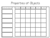 Properties of Objects - Science Unit Flipchart