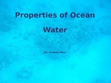 Properties of Ocean Water PowerPoint