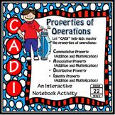 Properties of Operations {Commutative, Associative, Distributive, Identity}