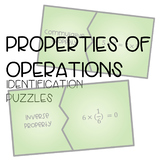 Properties of Operations Identification Puzzles