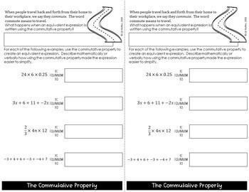 Properties of Operations Interactive Notebook Set