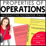 Properties of Operations Interactive Notebook Set | Distan